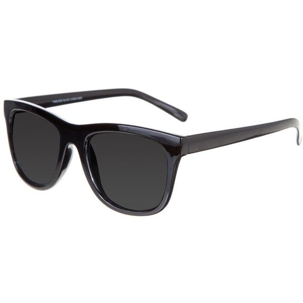Cheap Monday Timeless ($29) ❤ liked on Polyvore featuring accessories, eyewear, sunglasses, cheap monday, acetate glasses, black square frame glasses, acetate sunglasses and cheap monday sunglasses