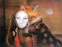 Kumiho - Fox Maiden A creature that can transform into a beautiful woman. She will seduce men and eat their livers. Some say they're misunderstood but others say they're evil spirits.