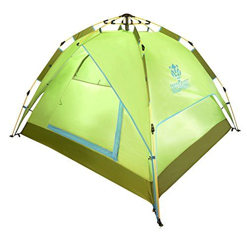 Cheap GreenGiant 4 Persons Tent Family Tent for C&ing Hiking Backpacking Automatic Quick Opening  sc 1 st  Pinterest & Cheap GreenGiant 4 Persons Tent Family Tent for Camping Hiking ...