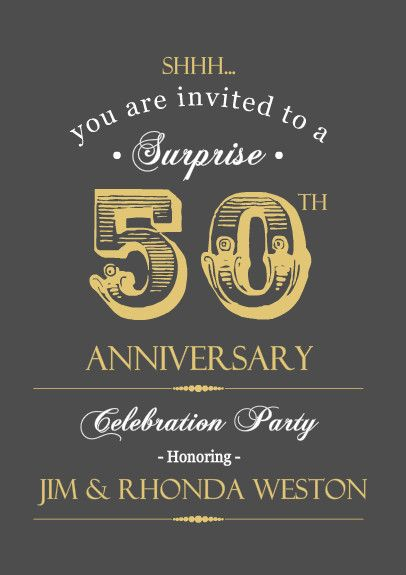 50th anniversary quotes Mom \ Dadu0027s 50th Anniversary Pinterest - best of corporate anniversary invitation quotes