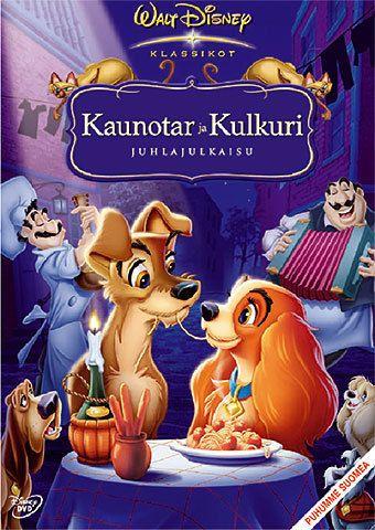 Disney klassikko 15: Kaunotar ja Kulkuri (DVD)  ps. tässä on kaunotar amerikancockeri!