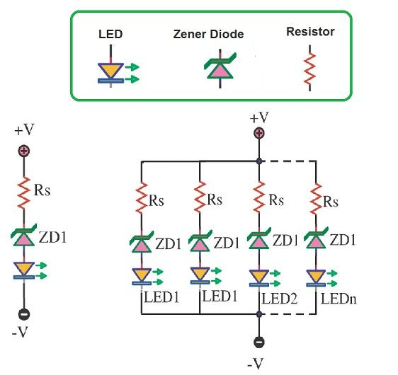 Simple Battery Level Indicator