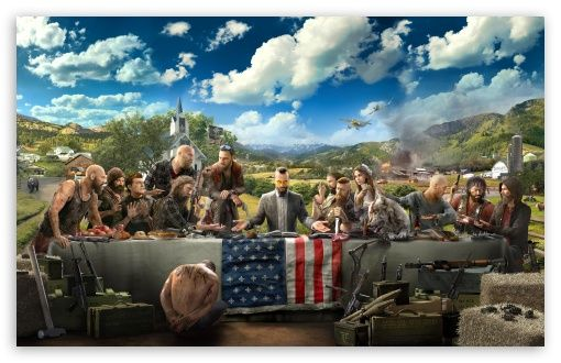 Far Cry 5 Hd Wallpaper For 4k Uhd Widescreen Desktop Smartphone Far Cry 5 Far Cry 5 Game Ubisoft