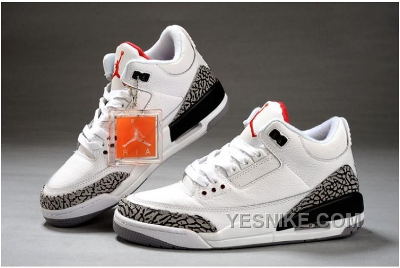 70af1ac772fb47 2014 Authentic Air Jordan 3 Retro White Womens on sale Outlet Online New  Arrival For Sale