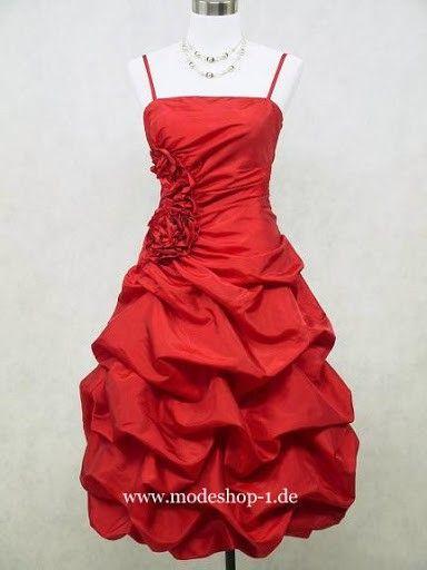 Kurzes Cocktailkleid Chi in Rot | wedding/prom | Pinterest | Prom ...