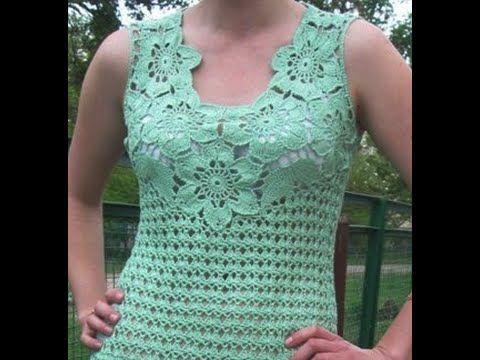 Resultado de imagem para puntadas de crochet para blusas ...