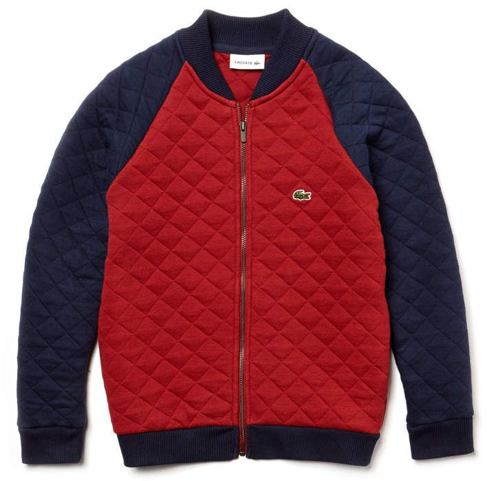 e0b12a7f74 Boys' Teddy Neck Colorblock Quilted Cotton Sweatshirt | Products ...