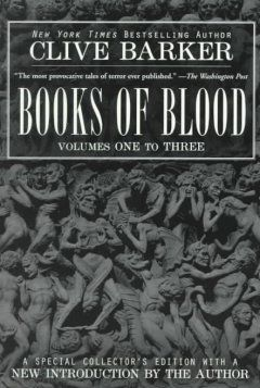 Joe suggests Books of Blood by Clive Barker