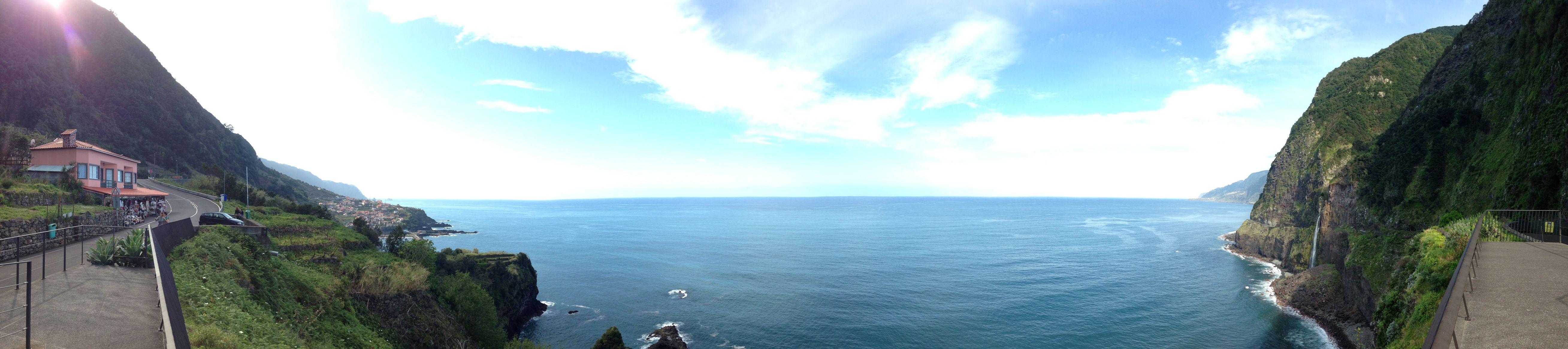 2013-04-07 - Madeira - Seixal ao fundo - Miradouro Véu da noiva