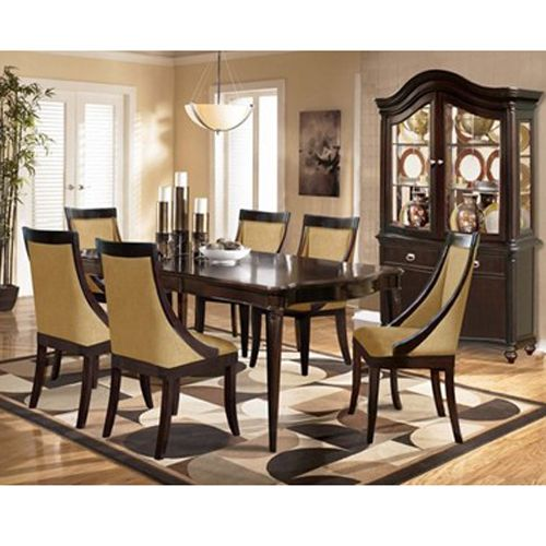 Riversedge Avenue 7pc Dining Group with China Cabinet | furniture ...