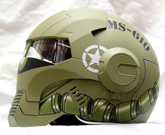 masei un casque moto au look d 39 iron man armors scifi. Black Bedroom Furniture Sets. Home Design Ideas