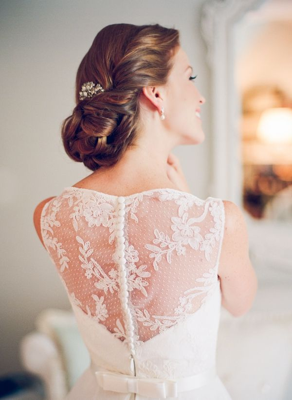 gorgeous lace gown | Jodi Miller