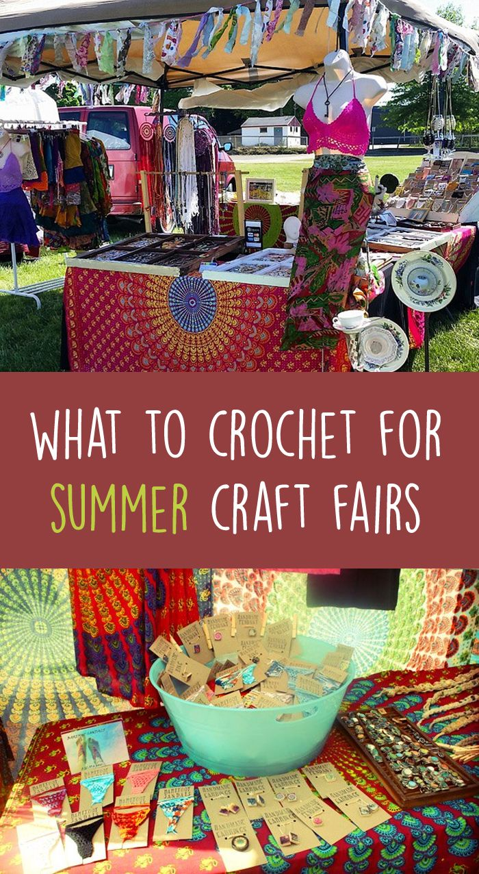 summer craft ideas to sell what to crochet for summer craft fairs gleeful things 7210