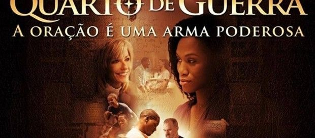 """O filme cristão """"Quarto de Guerra"""" estreará nos cinemas brasileiros no próximo dia 03 de dezembro, a..."""