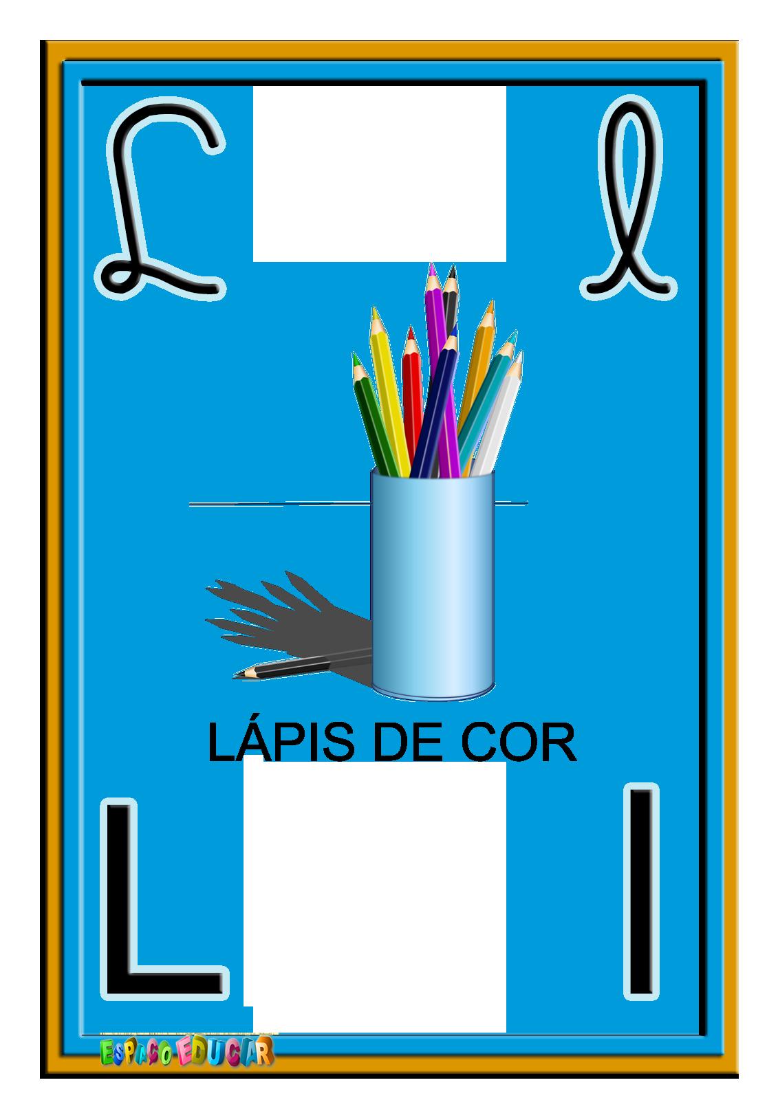 Alfabeto Colorido Quatro Tipos Letras Www Espacoeducar 2813 29