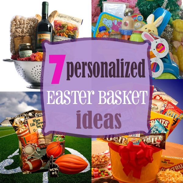 7 personalized easter basket ideas easter baskets basket ideas create a fun alternative to traditional baskets with personalized easter baskets for the whole family negle Gallery
