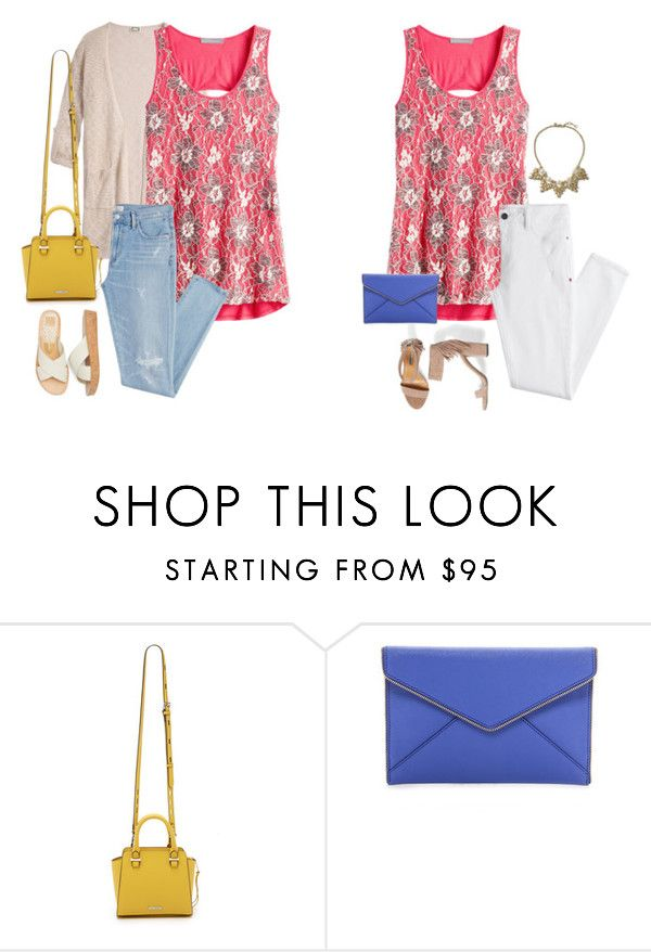 """""""Untitled #20216"""" by hanger731x ❤ liked on Polyvore featuring Rebecca Minkoff and Banana Republic"""