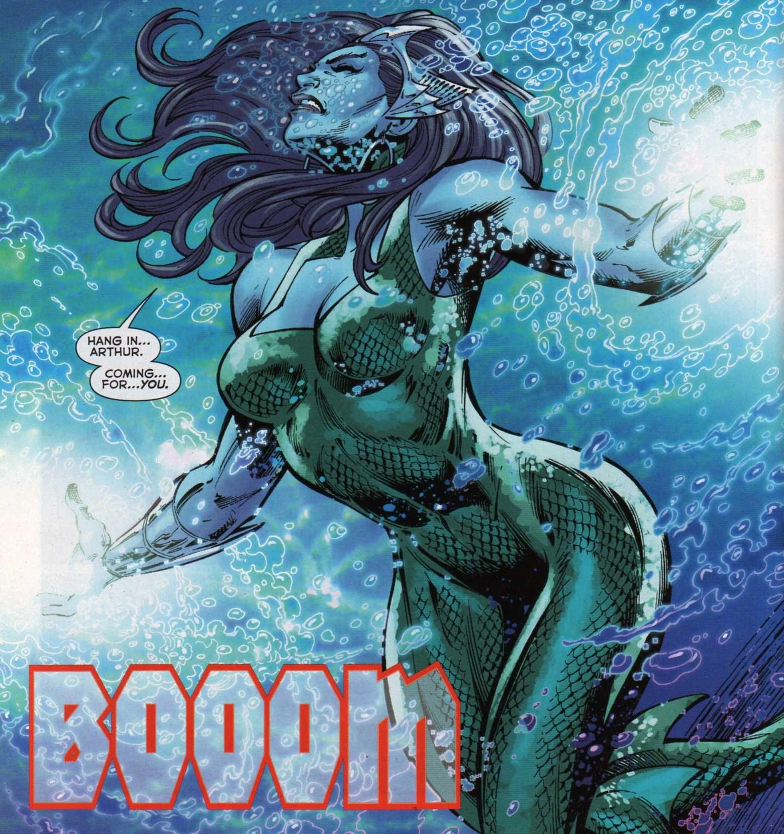 Mera in Aquaman Vol 7 # 40 - Art by Paul Pelletier, & Rain Beredo