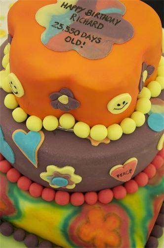 Candy Stripe Cake Box - Birthday cakes