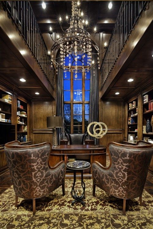 Man Cave Home Office, Fort Worth, Texas - In Photos Houses With