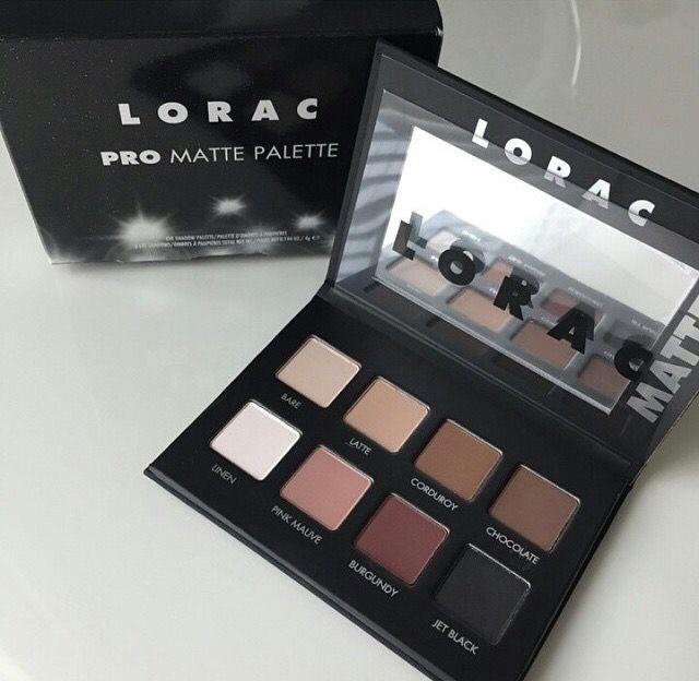 Eyes - Lorac palette