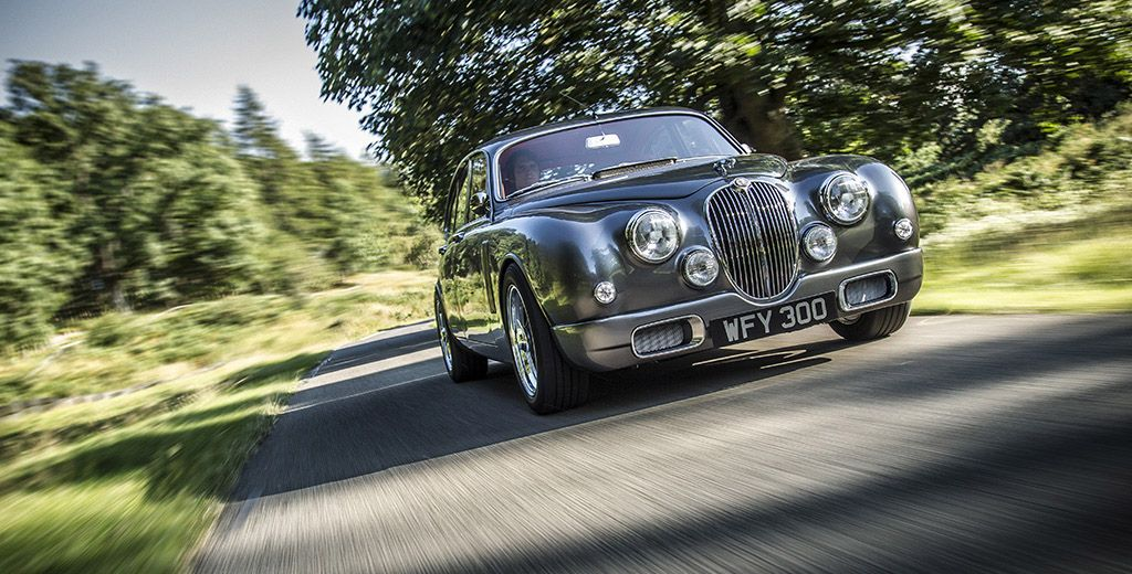Ian Callum's redesigned Jaguar Mark 2 goes into limited production at Classic Motor Cars. Twelve cars will be made tailored to each buyer.