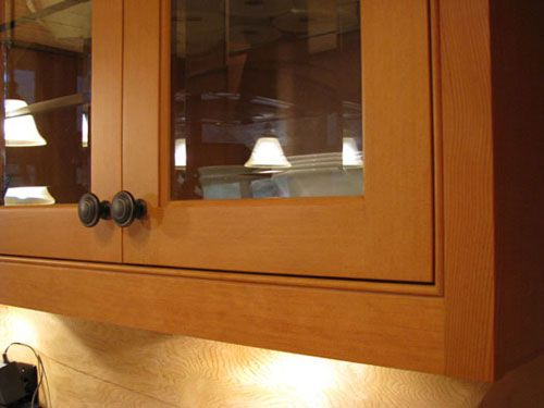 Vertical Grain Douglas Fir cabinets with beaded inset ...