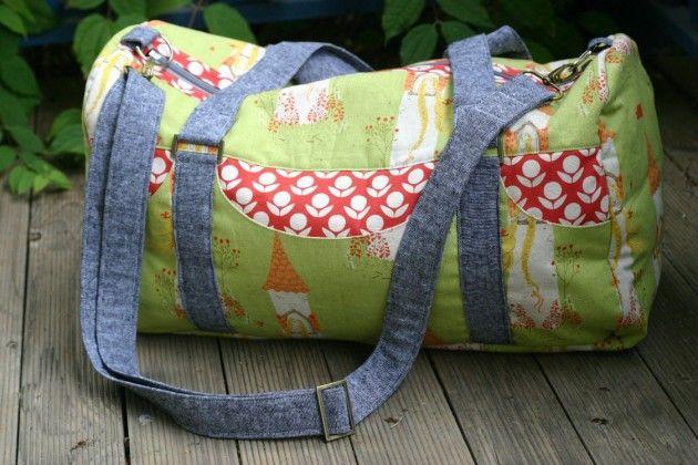 Betz White Road Tripper Duffle sewn by Kate Henderson