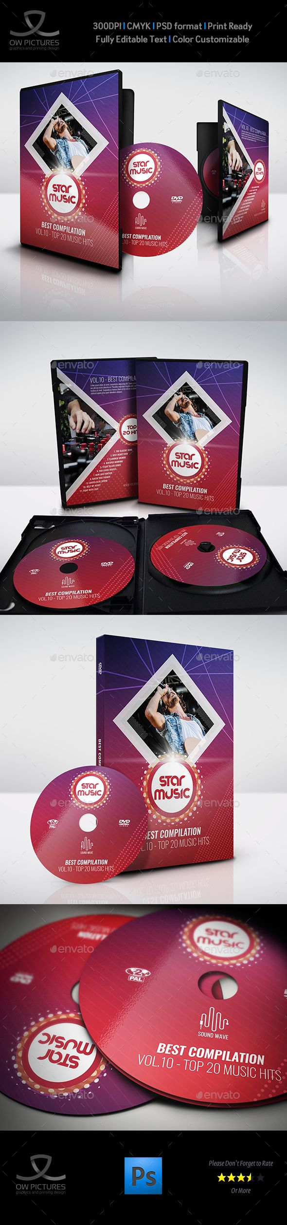 music dvd cover and label template cd dvd artwork print