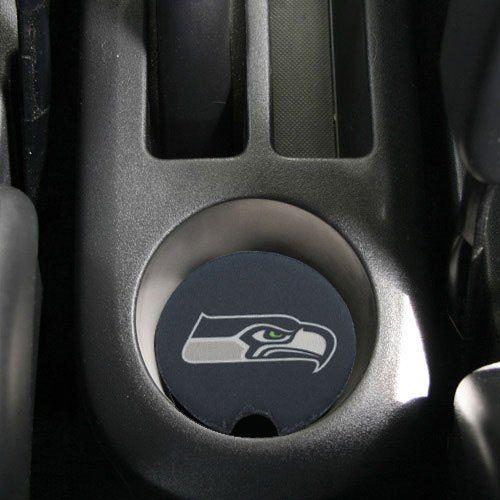 Amazon Com Nfl Seattle Seahawks 2 Pack Neoprene Car Coasters Navy Blue Sports Outdoors Nfl Seattle Car Coasters Seahawks