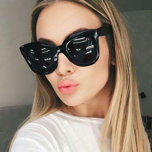 92ebd526a0 Kim Kardashian Sunglasses Oversized Top Flat Black Women Celine ...