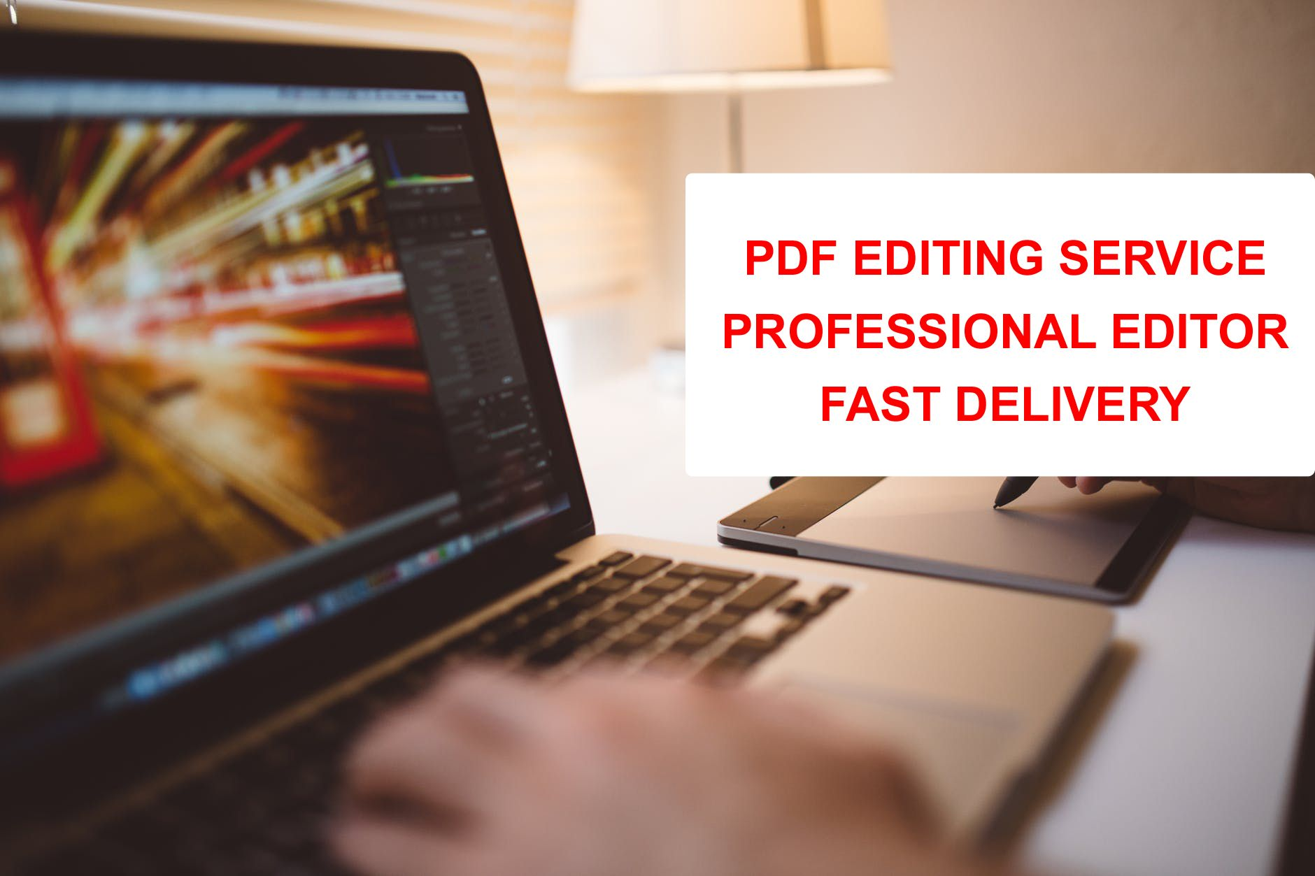 My Services: PDF Doc Editing (One or More Pages) Pdf to Word
