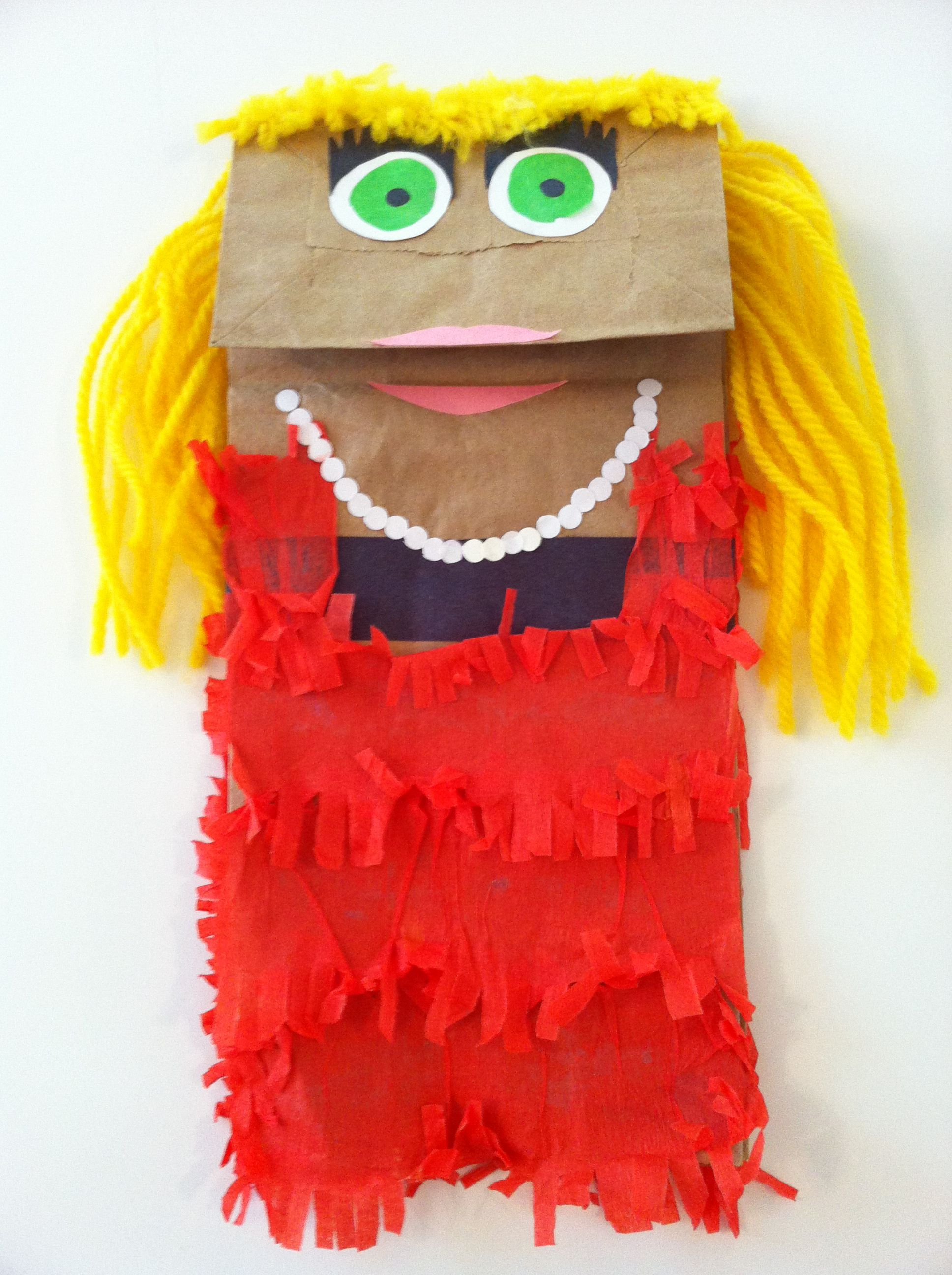 paper bag puppet crafts pinterest paper bag puppets puppet