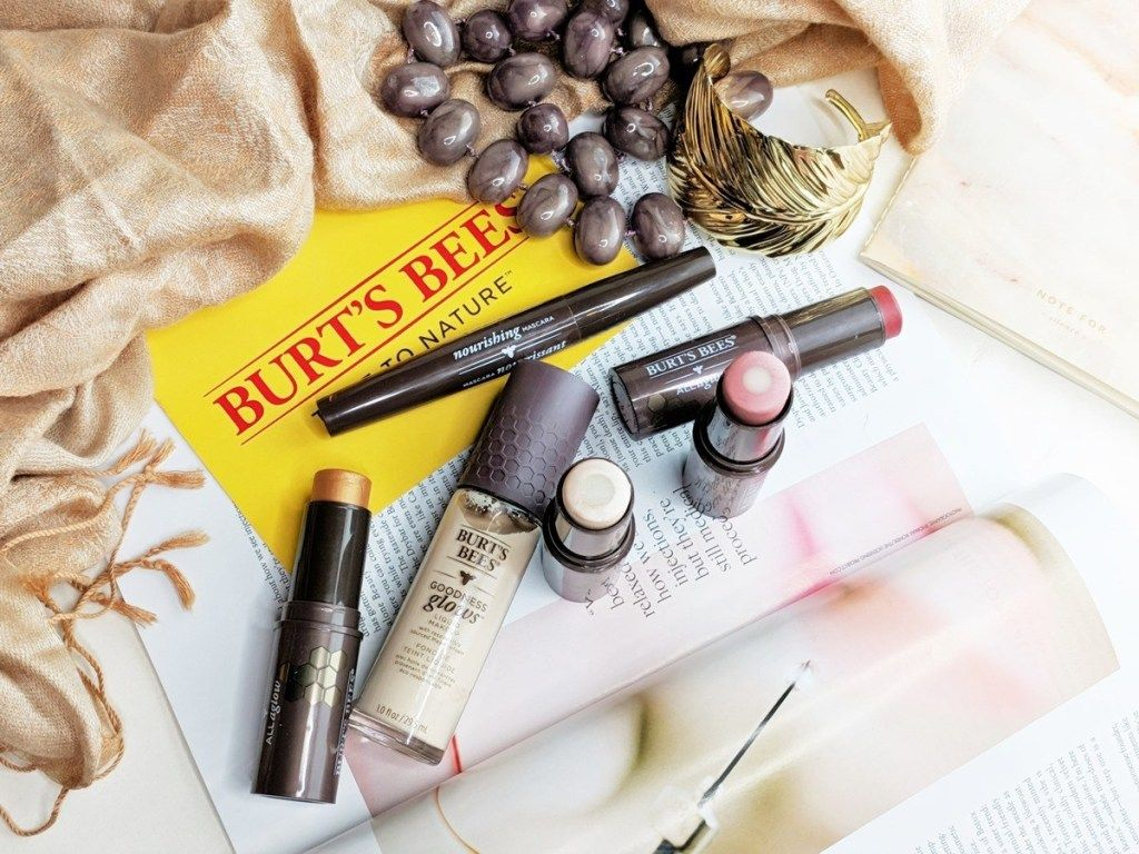 All Aglow With Burt's Bees Makeup Blush & Pearls Bee
