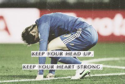 Keep Your Head Up Soccer Motivation Soccer Inspiration Soccer Memes
