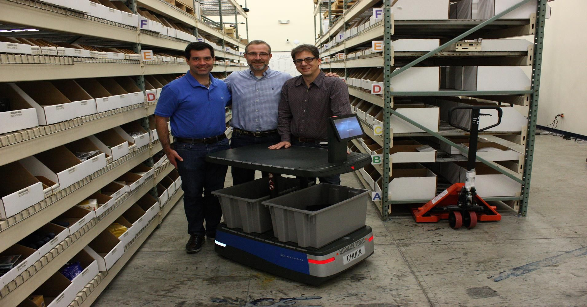 The Team Who Created Amazon S Warehouse Robots Returns With A New