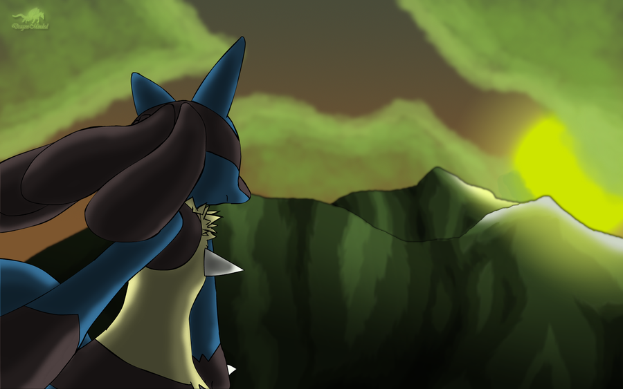 Lucario's Sunset Revamp by Dragon-Minded on DeviantArt