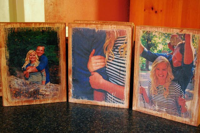 Photo Transfer To Wood Tutorial Step By Step Easy Instructions