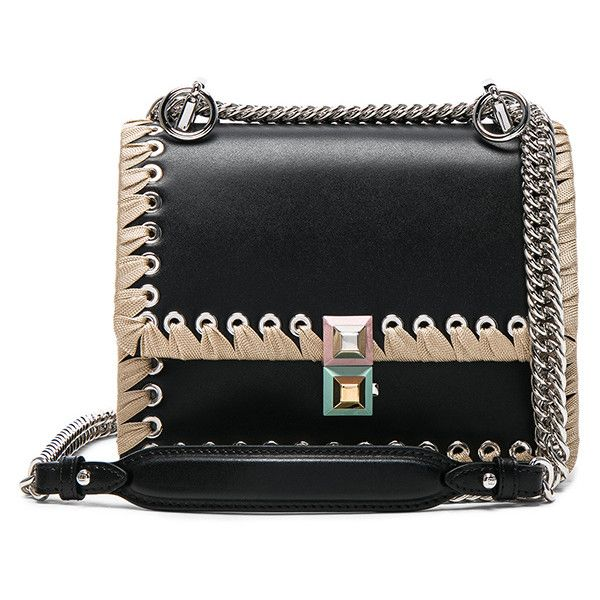 e35a73cf990d ... canada fendi whipstitch kan l shoulder bag 2200 liked on polyvore  featuring bags cd176 70a7c ...