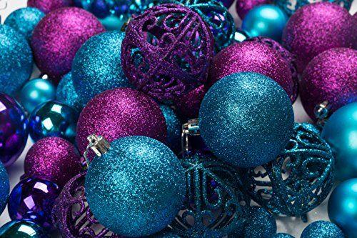 100 Shatterproof Christmas Ornament Balls Christmas Orn Https Www Amazon Com Dp B01ldtt5ra Ref Cm Sw R Pi Dp X Ygnkybrpmw63t Admirable Navidad