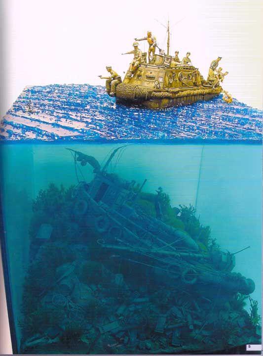 armorama water going deep ideas pinterest diorama