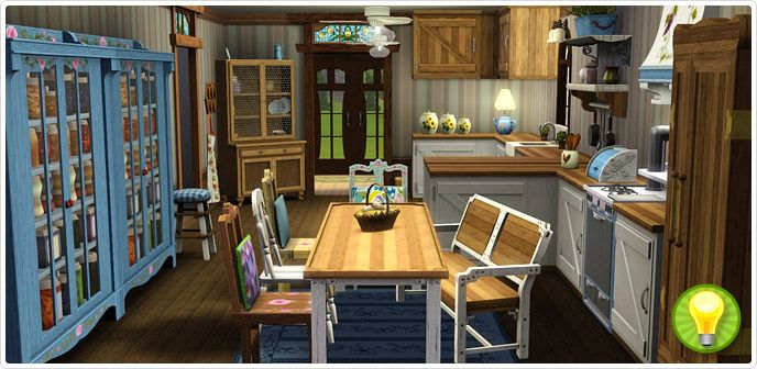 Charmingly Simple Kitchen Collection - Store - The Sims™ 3 | The
