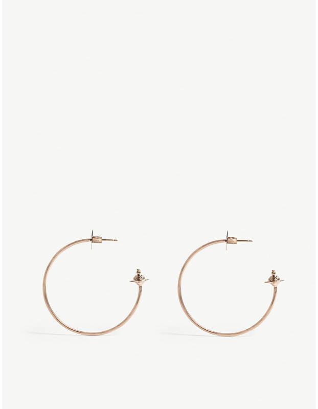 726a9813f6ad7 Vivienne Westwood Jewellery Rosemary hoop earrings   Need to ...