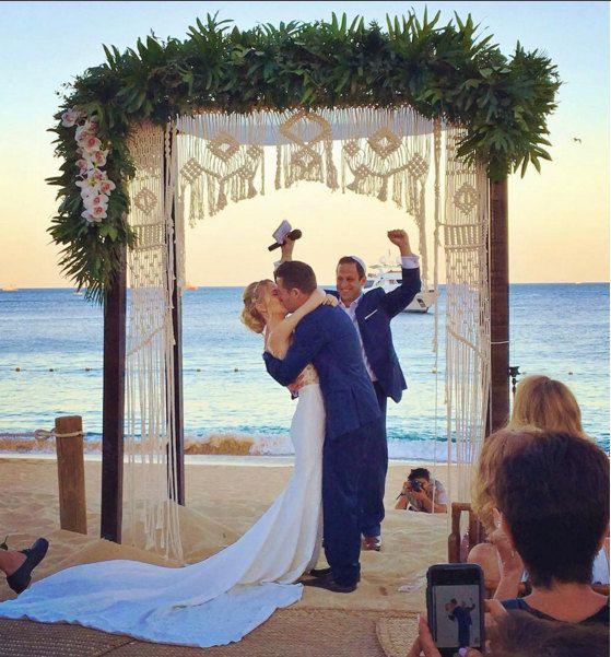 Macramae Ideas Wedding Arch: Macrame Wedding Arch Wedding Backdrop Chuppah By