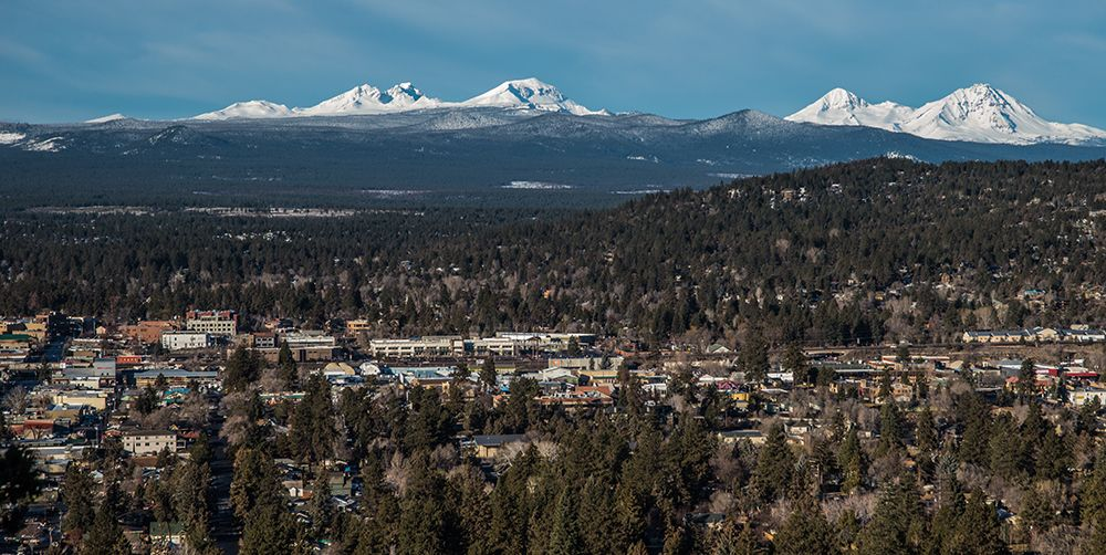 Bend Skyline. Vacations, Staycations, and Road Trips