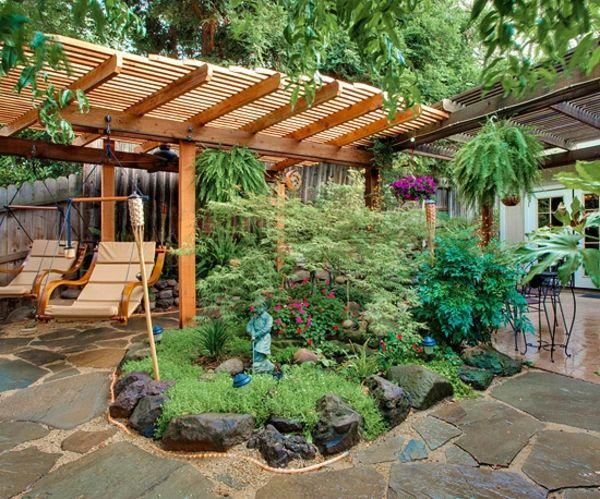 tropical garden in cool climate garten pinterest. Black Bedroom Furniture Sets. Home Design Ideas