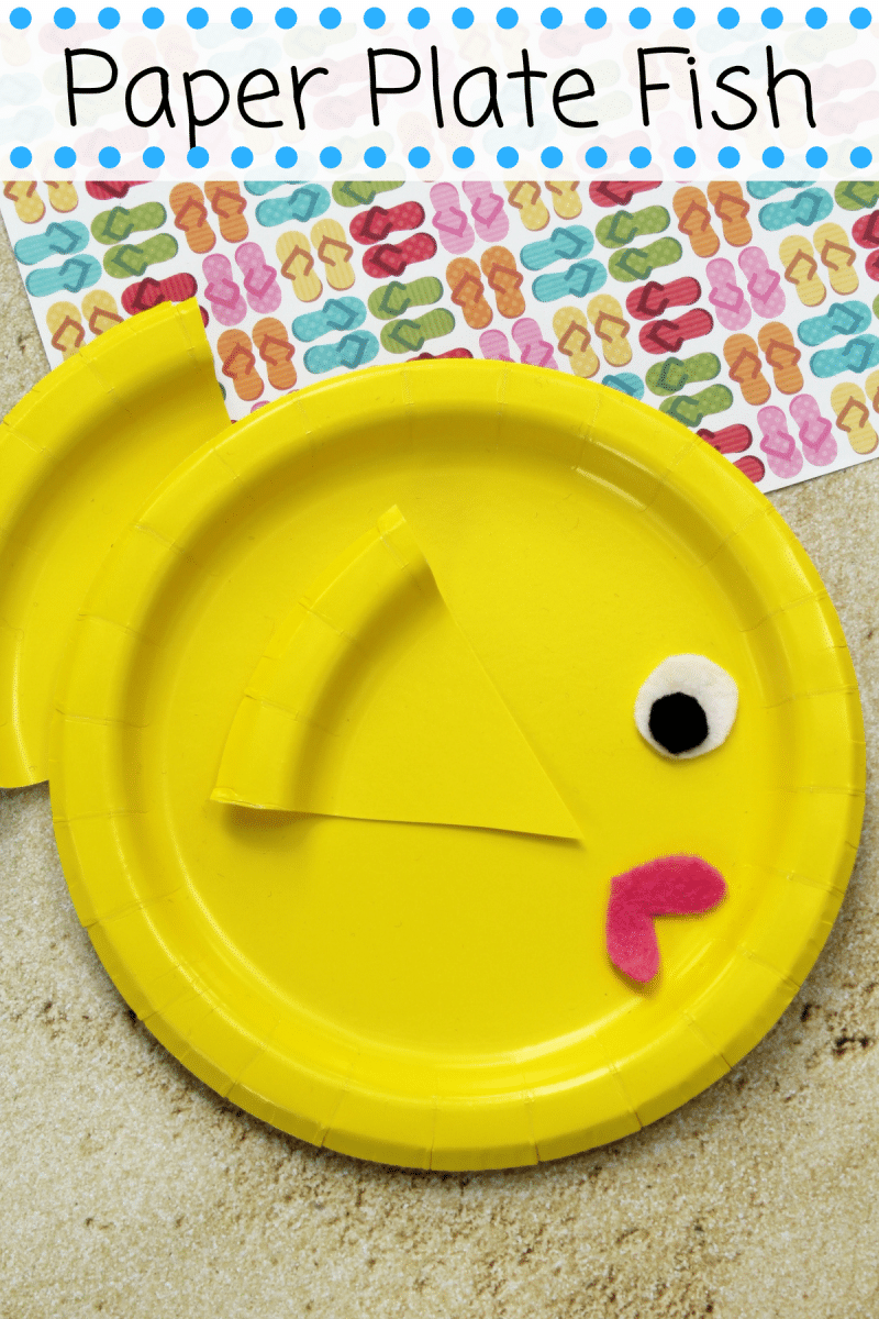 Bright And Colorful Paper Plate Fish Craft Is A Fun And Easy Summer
