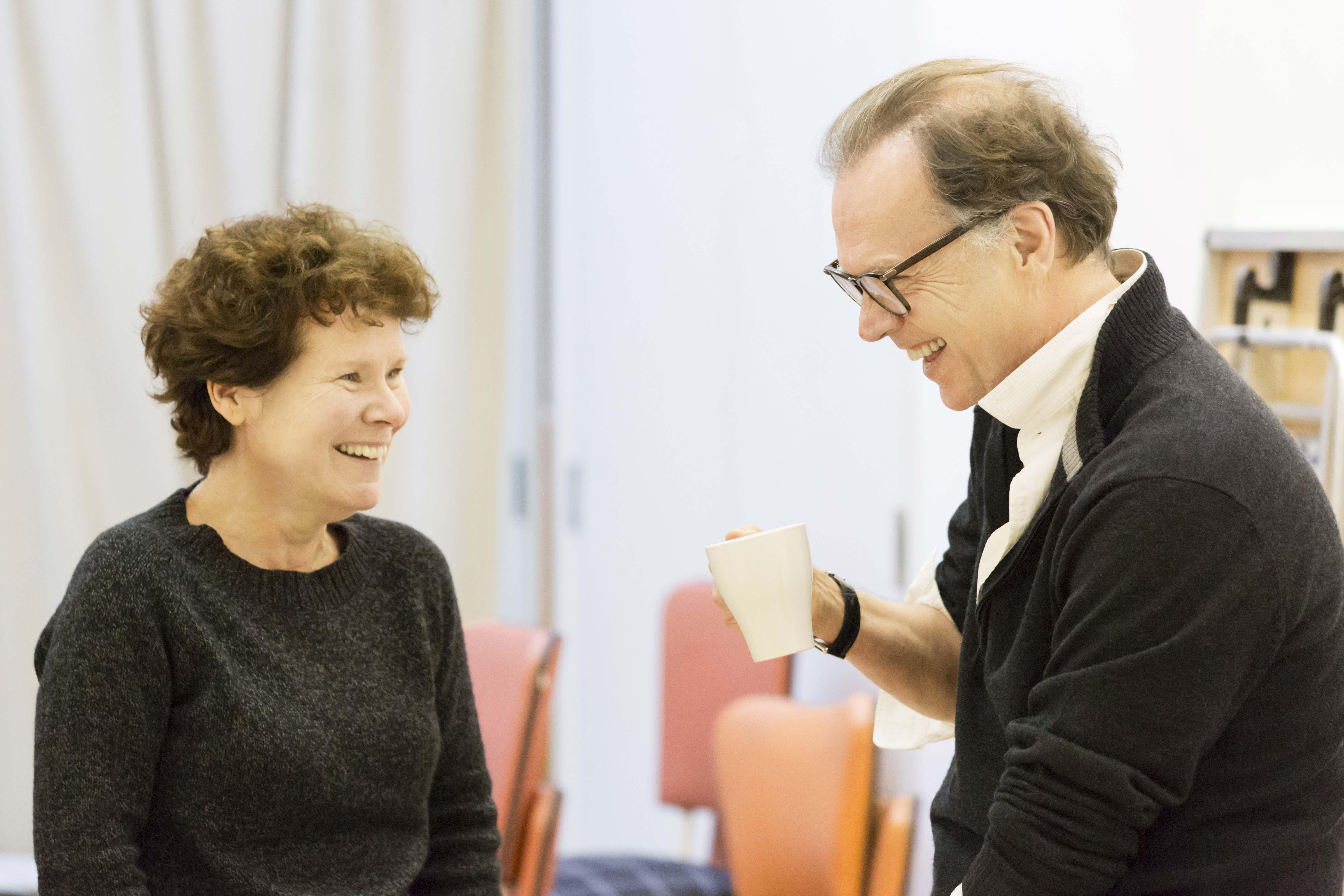 Imelda Staunton and director Jonathan Kent