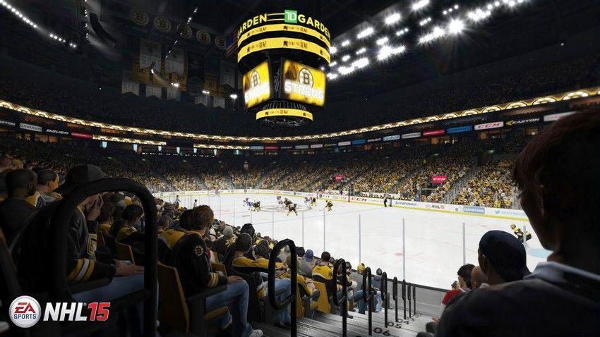 NHL 15 - TD Garden  Home Ice: Boston Bruins Location: Boston, Massachusetts Opened: September 30, 1995