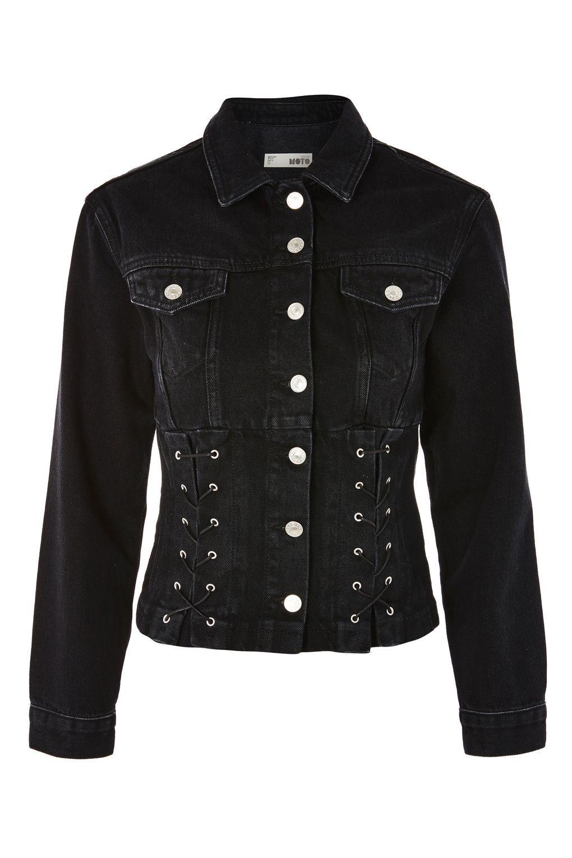Corset Denim Jacket Denim Jacket Embroidered Denim Jackets